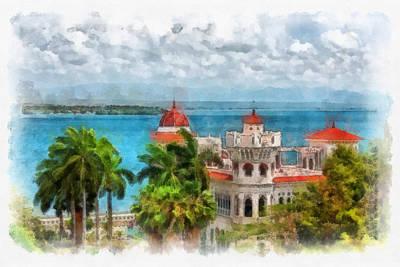 Photograph - Cienfuegos Vista by Dawn Currie