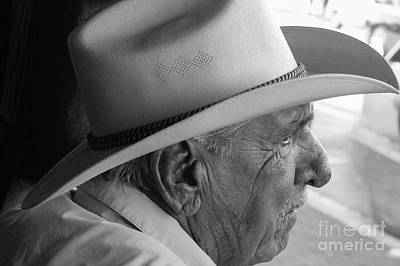 Cigar Maker Remembering His Past Art Print by Rene Triay Photography