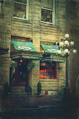 Historic Site Photograph - Cigar Shop by Maria Angelica Maira