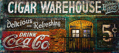 Cigar Warehouse Art Print
