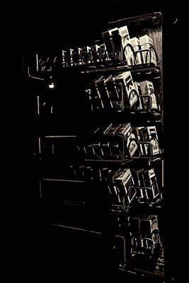 Photograph - Cigarette Machine by Sennie Pierson