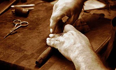 Photograph - Cigarsd by David Lee Thompson