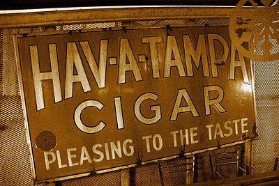 Photograph - Cigarsg by David Lee Thompson