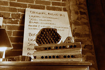 Photograph - Cigarsy by David Lee Thompson