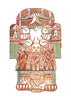 Cihuacoatl, Aztec Motherhood Art Print