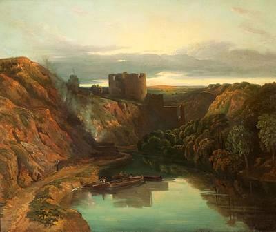Remains Painting - Cilgerran Castle by Peter de Wint
