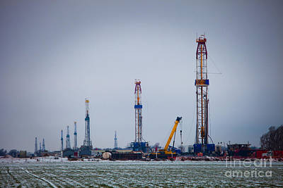Oil Photograph - Cim004-5 by Cooper Ross
