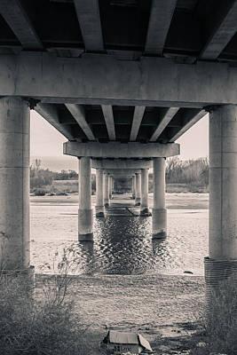 Photograph - Cimarron Bridge Pillars by Nathan Hillis