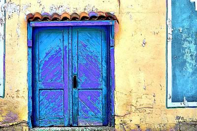 Cimarron Door Art Print