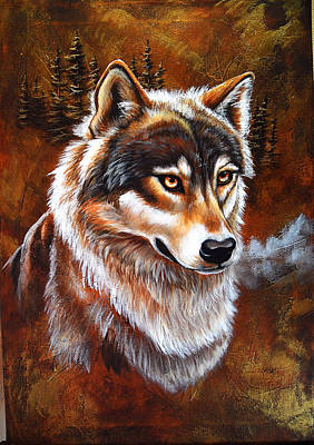 Painting - Cimarron by Lori Salisbury