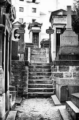 Cemeteries Of Paris Photograph - Cimetiere De Montmartre by John Rizzuto