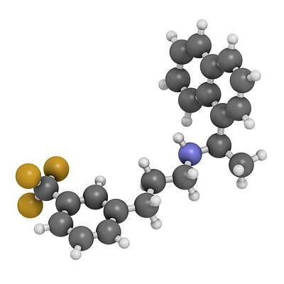 Calcium Photograph - Cinacalcet Hyperparathyroidism Drug by Molekuul