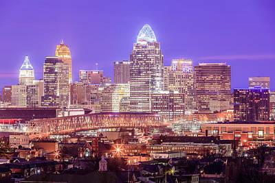 Photograph - Cincinnati Blues by Keith Allen