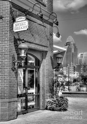 Photograph - Cincinnati Day Dreams Bw by Mel Steinhauer