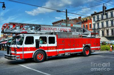 Photograph - Cincinnati Firehouse Food by Mel Steinhauer