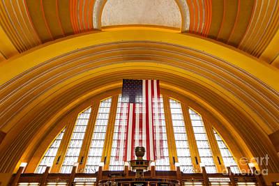 Photograph - Cincinnati Museum Center Interior Photo by Paul Velgos