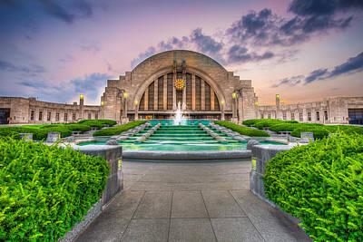 Photograph - Cincinnati Museum Center by Keith Allen