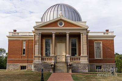 Cincinnati Observatory In Cincinnati Ohio Art Print by Paul Velgos