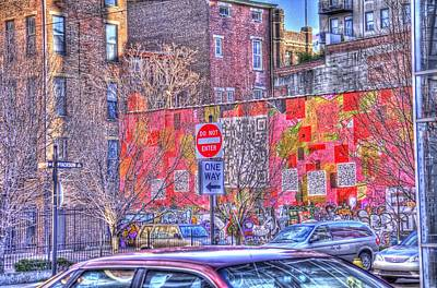 Photograph - Cincinnati Street Art by Daniel Sheldon