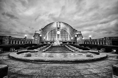 Art Print featuring the photograph Cincinnati Union Terminal by Cathy Donohoue