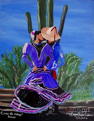 Painting - Cinco D Mayo by Jayne Kerr