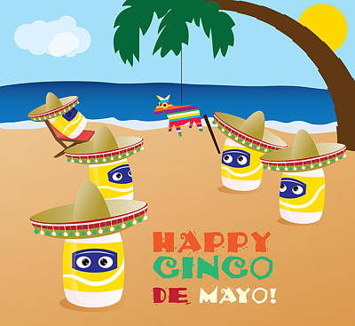 Digital Art - Cinco De Mayo by Ashley King