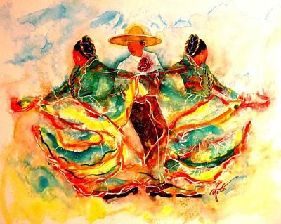 Mayo Painting - Cinco De Mayo by John YATO