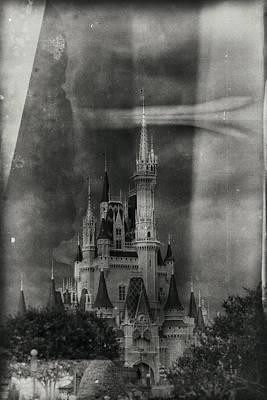 Photograph - Cinderella - Wet Plate Process by Nicholas Evans