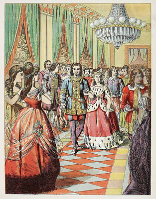 Prince Charming Photograph - Cinderella At The Ball by British Library