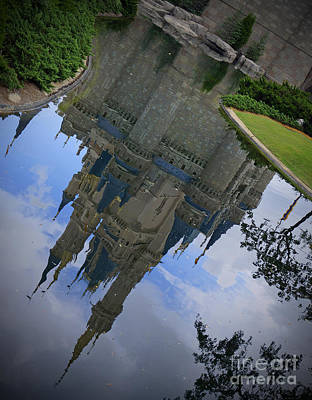 Photograph - Cinderella Castle - A Moment For Reflection by AK Photography