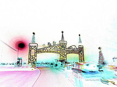Digital Art - Cinderella Castle  by Angelia Hodges Clay