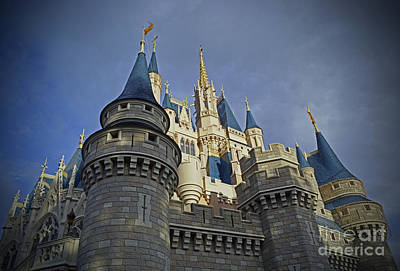 Photograph - Cinderella Castle - Walt Disney World by AK Photography
