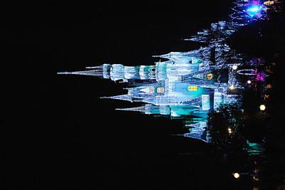 Photograph - Cinderella's Castle Blue by Robert  Moss