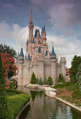 Photograph - Cinderella's Enchanted Castle by John Black