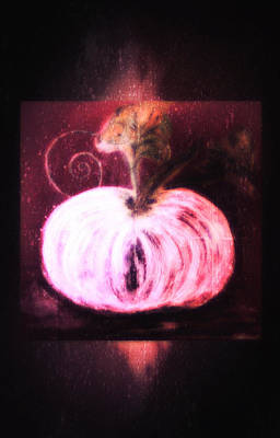Painting - Cinderella's Pumpkin  by Sherry Flaker