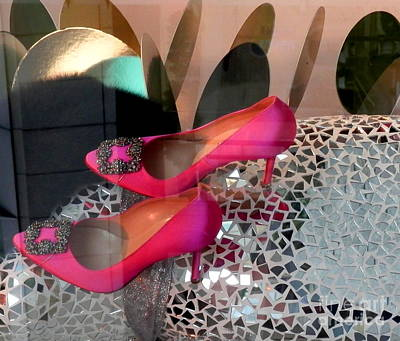 Photograph - Cinderella's Slippers by L Cecka