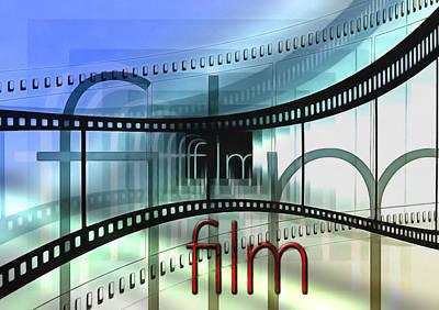 Decorating Mixed Media - Cinematic Design by Georgiana Romanovna
