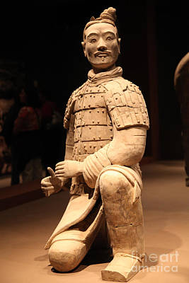 Chinese Warrior Photograph - Cinese Warrior by Dean Triolo
