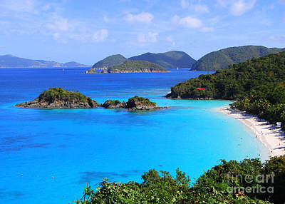Cinnamon Bay St. John Virgin Islands Art Print