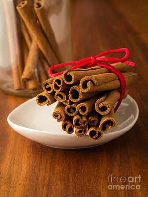 Bakery Photograph - Cinnamon Spice by Edward Fielding