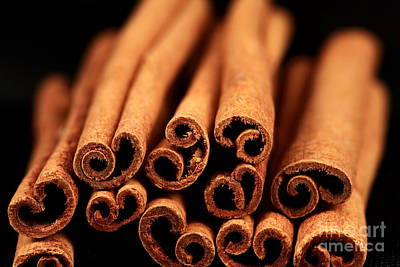 Photograph - Cinnamon Sticks by John Rizzuto