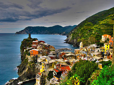 Cinque Terra Art Print by David Gleeson