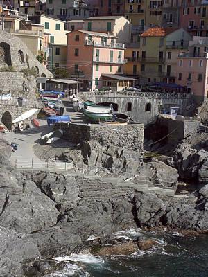 Photograph - Cinque Terre 4 by Karen Zuk Rosenblatt