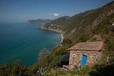Photograph - Cinque Terre Grape Shack by Susan Rovira