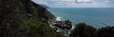 Cinque Terre Italian Riviera Vernazza Art Print by Panoramic Images