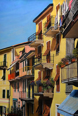 Painting - Cinque Terre by Joanne Grant