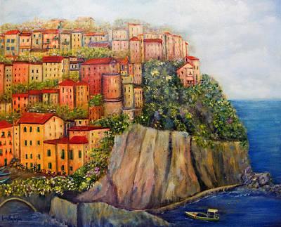 Painting - Cinque Terre by Loretta Luglio