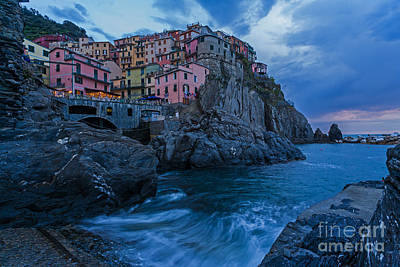 Photograph - Cinque Terre Manarola Boatramp by Mike Reid