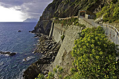 Photograph - Cinque Terre National Park by Walt  Baker