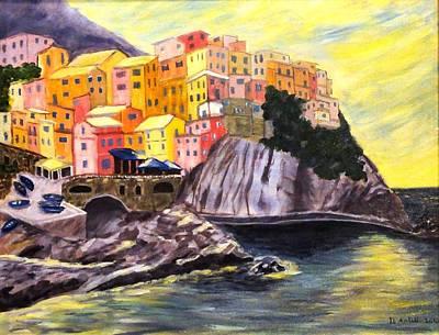 Cinque Terre Sunrise Art Print